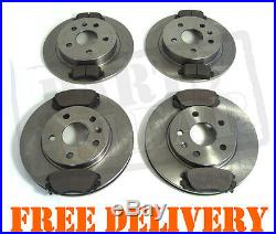 VAUXHALL INSIGNIA 1.8 2.0 CDTi Front & Rear Brake Pads & Discs Kit 296mm 292mm