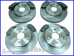 VAUXHALL INSIGNIA 2.0 CDTi SOME160BHP FRONT & REAR BRAKE DISCS & PADS CHECK SIZE