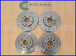 VECTRA C 1.9 CDti DRILLED BRAKE DISCS Front Rear