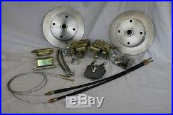 VW Beetle Type 1 Rear Drum To Disc Conversion 656Vg1000 Empi Rear Axle
