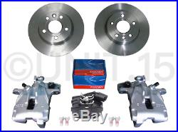 VW T4 Transporter 1997-2003 Rear Brake Calipers Discs + Pads