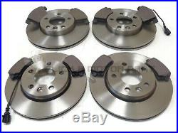 VW TRANSPORTER T5 2.0 TDi FRONT AND REAR BRAKE DISCS & PADS (CHECK DISC SIZES)