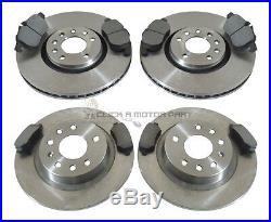 Vauxhall Astra H Mk5 2.0t Vxr 2005-2010 Front & Rear Brake Discs And Pads