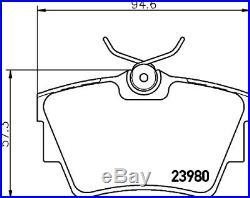 Vauxhall Vivaro 2001-14 Front & Rear Brake Discs & Pads with ABS Ring & Bearings