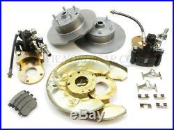 Volvo 673797-KIT Brake disc conversion kit Rear axle 210 Amazon P1800S