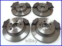 Volvo S60 S80 D5 2.4 Td Front & Rear Brake Discs & Pads Please Check Size