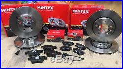 Vw Transporter Caravelle 1.9 2.5 Tdi T5 Front Rear Mintex Brake Discs And Pads