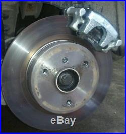 WORLDWIDE Rear Disc Brake Kit for Smart Roadster + ForTwo 450 & 451 from drums