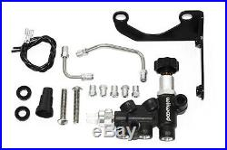 Wilwood Red Front & Rear Disc Brake Kit with Chrome Booster & Master Cylinder